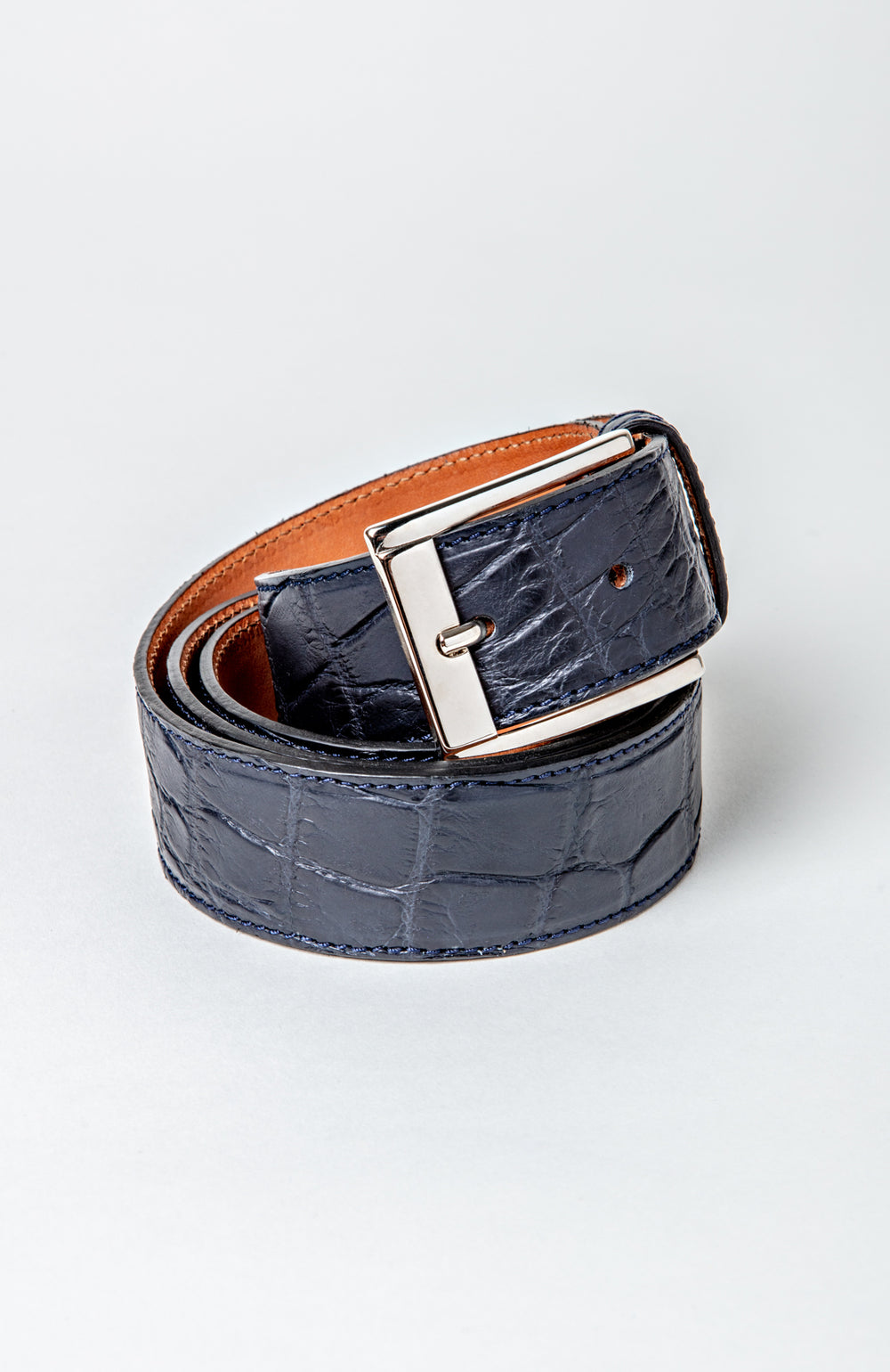 Blue Alligator Belt