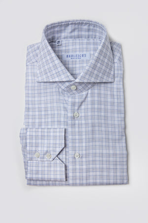Grey Multi-Check Shirt