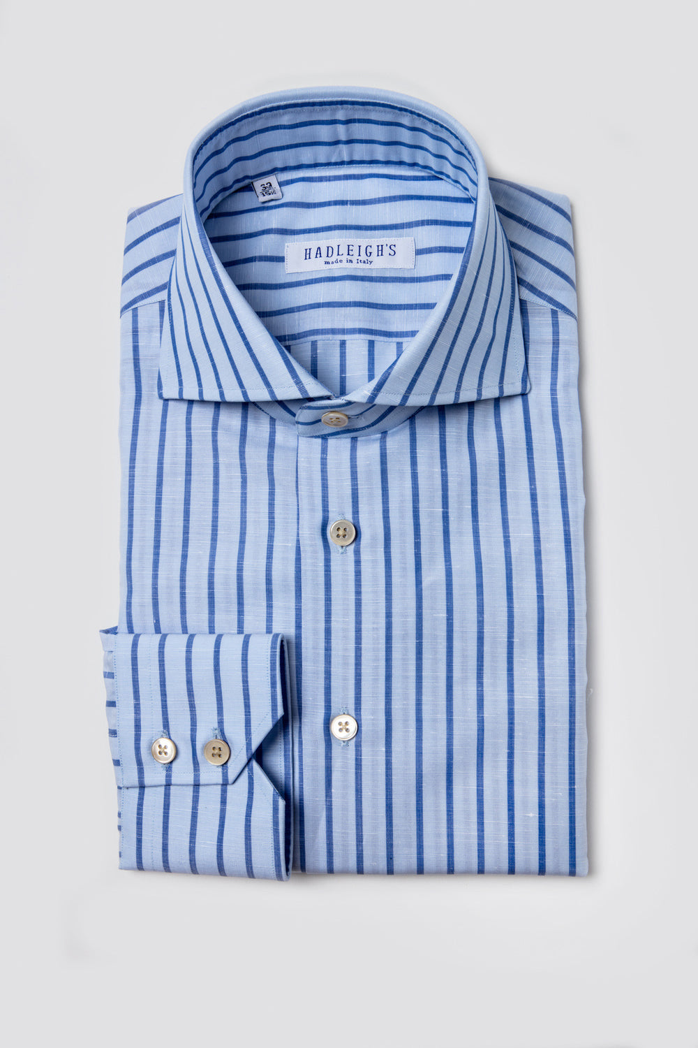 Blue and Light Blue Stripe Shirt