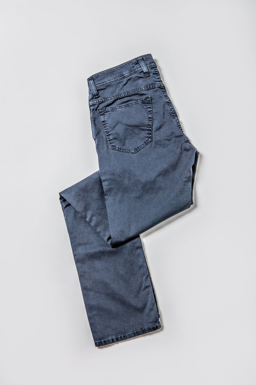Jacob Cohen Navy Cotton Pant