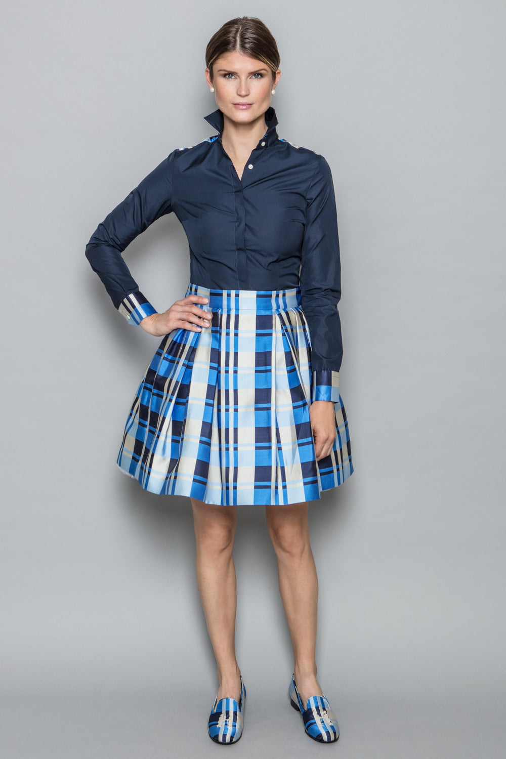 Charlette Skirt in Blue