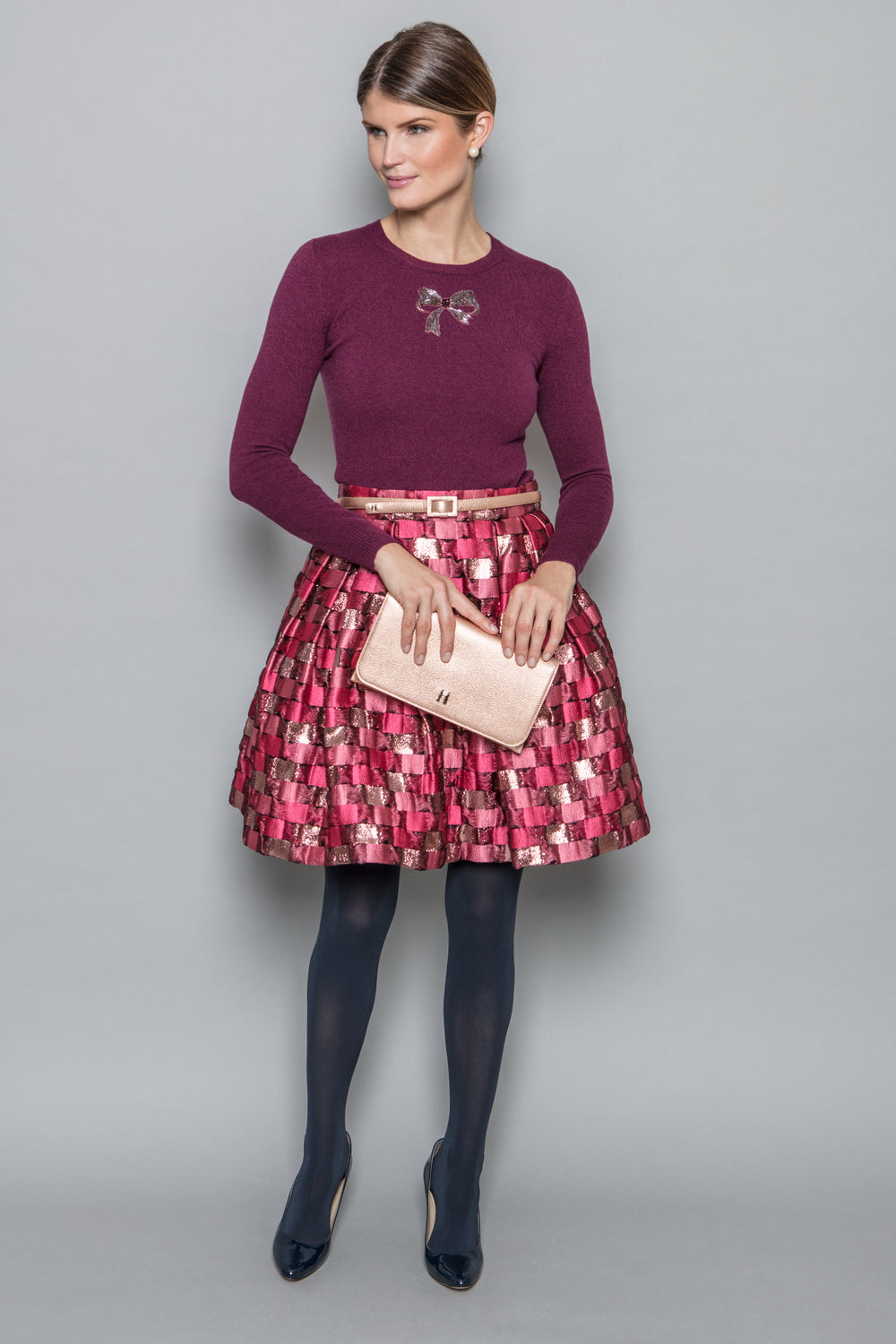 Charlette Skirt in Rosa