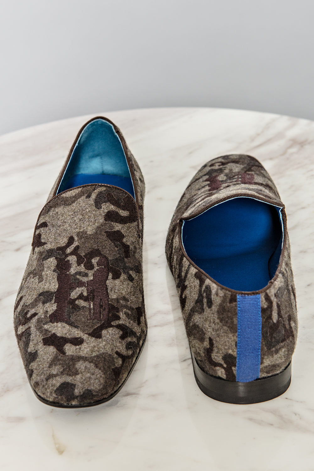Slipper in Brown Cammo