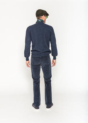 Jacob Cohen Canvas Pant in Navy