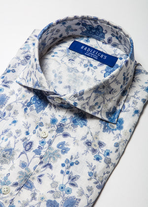 Short Sleeve Popover in Floral