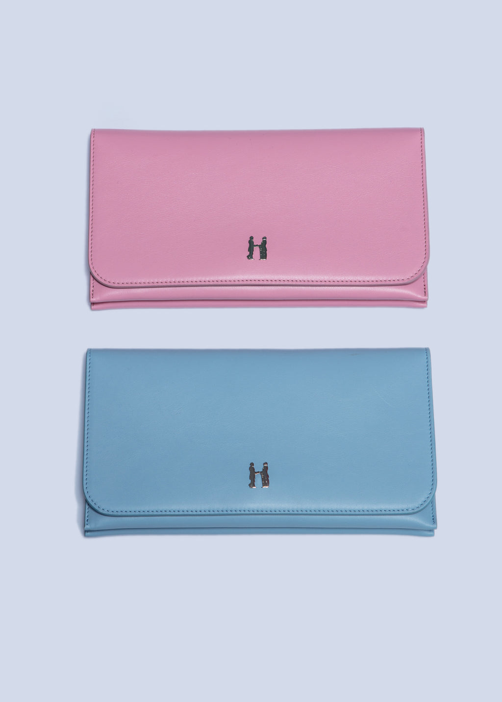 Whitney Clutch in Sky Blue