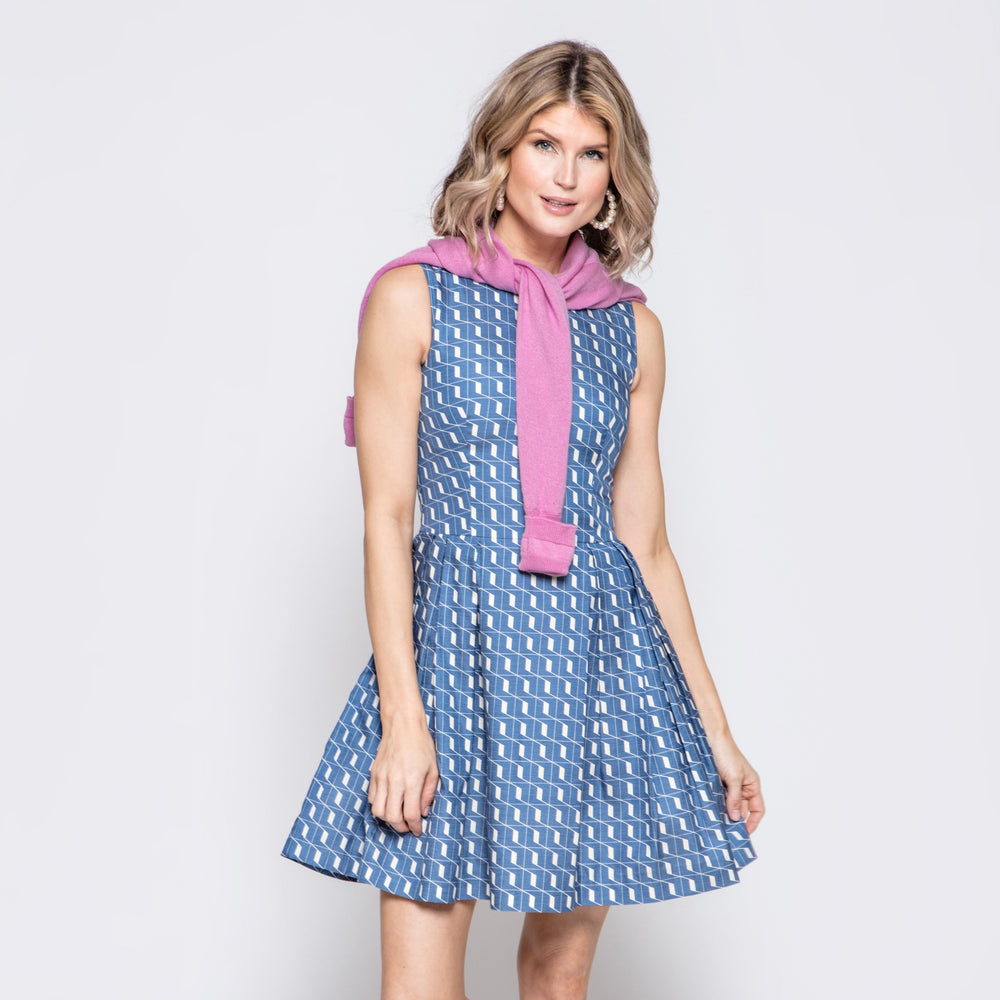 Molly Dress in Geo Print