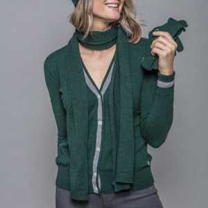 Lisa Cardigan in Green