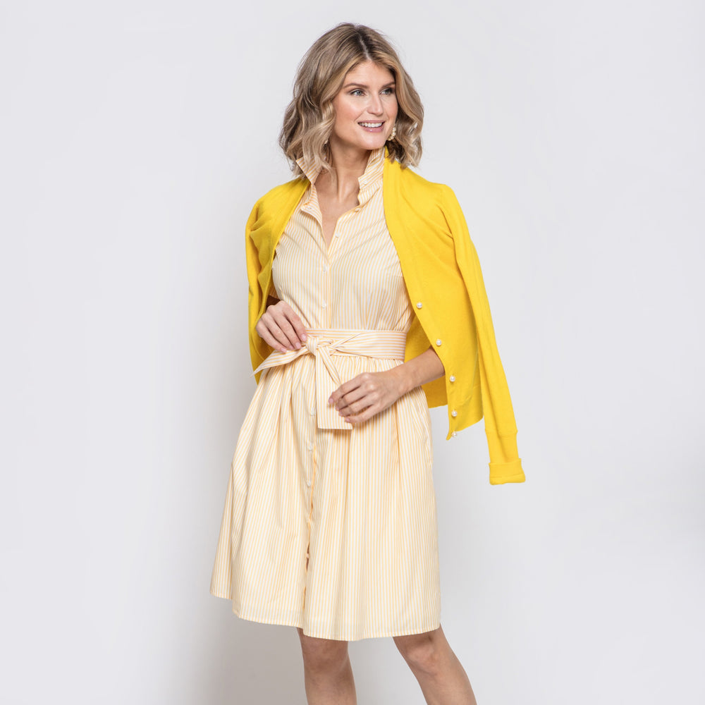 Coupe Dress in Yellow