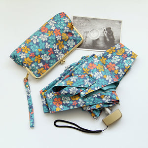 Kit fofo de guarda-chuva mini com carteira