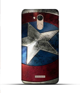 """Captain America"" Printed Matt Finish Mobile Case for Coolpad Note 5"