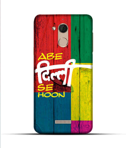"""Abe Delhi See Hoon"" Printed Matt Finish Mobile Case for Coolpad Note 5"