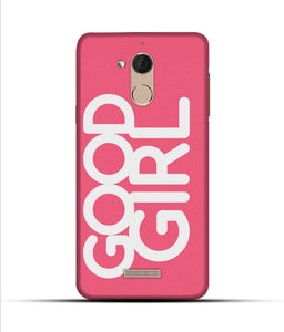 """Good Girl"" Printed Matt Finish Mobile Case for Coolpad Note 5"