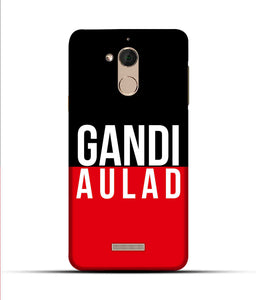 """gandi Aulaad"" Printed Matt Finish Mobile Case for Coolpad Note 5"