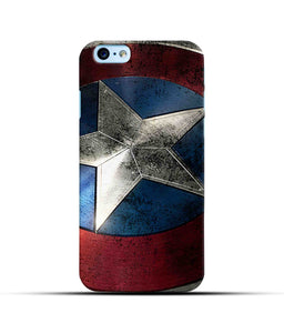 """Captain America"" Printed Matt Finish Mobile Case for Iphone 6"
