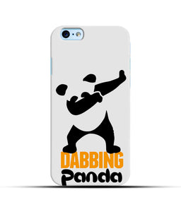 """Dabbing panda"" Printed Matt Finish Mobile Case for Iphone 6"