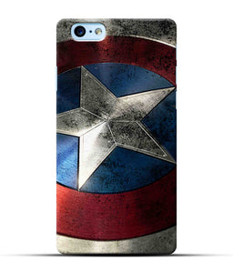"""Captain America"" Printed Matt Finish Mobile Case for Iphone 6S Plus"
