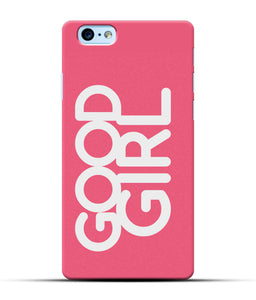 """Good Girl"" Printed Matt Finish Mobile Case for Iphone 6S Plus"