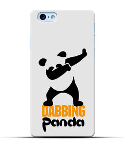 """Dabbing panda"" Printed Matt Finish Mobile Case for Iphone 6S Plus"