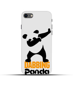 """Dabbing panda"" Printed Matt Finish Mobile Case for Iphone 7"