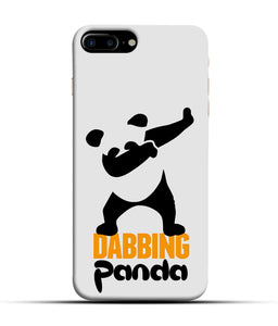 """Dabbing panda"" Printed Matt Finish Mobile Case for Iphone 7 Plus"