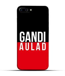 """gandi Aulaad"" Printed Matt Finish Mobile Case for Iphone 7 Plus"