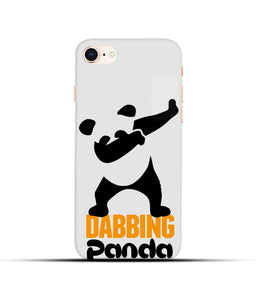 """Dabbing panda"" Printed Matt Finish Mobile Case for Iphone 8"