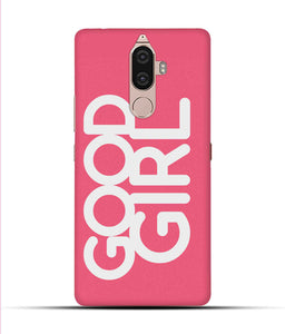 """Good Girl"" Printed Matt Finish Mobile Case for Lenovo K8 Note"