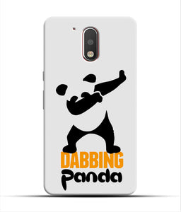"""Dabbing panda"" Printed Matt Finish Mobile Case for Moto G4 Plus"