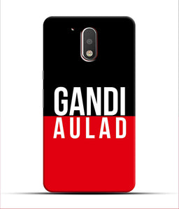 """gandi Aulaad"" Printed Matt Finish Mobile Case for Moto G4 Plus"