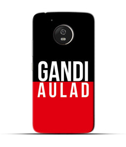 """gandi Aulaad"" Printed Matt Finish Mobile Case for Moto G5"