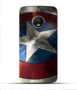 """Captain America"" Printed Matt Finish Mobile Case for Moto G5 Plus"