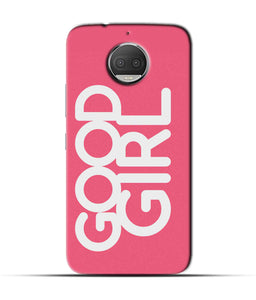 """Good Girl"" Printed Matt Finish Mobile Case for Moto G5s Plus"