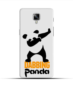 """Dabbing panda"" Printed Matt Finish Mobile Case for One Plus Three"