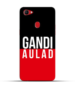 """gandi Aulaad"" Printed Matt Finish Mobile Case for Oppo F7"