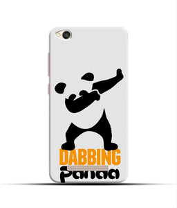 """Dabbing panda"" Printed Matt Finish Mobile Case for Redmi 4A"
