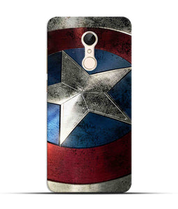 """Captain America"" Printed Matt Finish Mobile Case for Redmi 5"