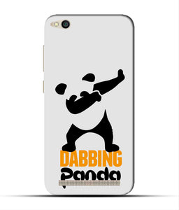 """Dabbing panda"" Printed Matt Finish Mobile Case for Redmi 5A"