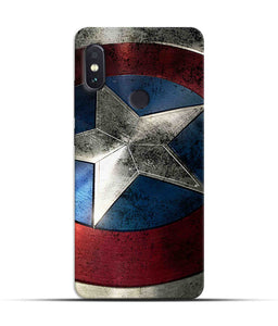 """Captain America"" Printed Matt Finish Mobile Case for Redmi Note 5 Pro"