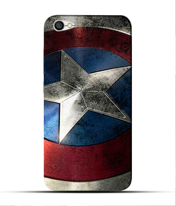 """Captain America"" Printed Matt Finish Mobile Case for Redmi Y1 Lite"