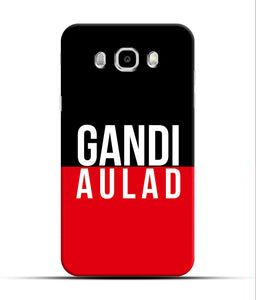 """gandi Aulaad"" Printed Matt Finish Mobile Case for Samsung J7 2016"