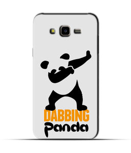 """Dabbing panda"" Printed Matt Finish Mobile Case for Samsung J7 Nxt"