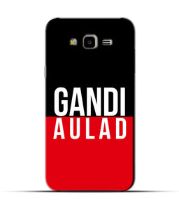 """gandi Aulaad"" Printed Matt Finish Mobile Case for Samsung J7 Nxt"