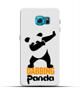 """Dabbing panda"" Printed Matt Finish Mobile Case for Samsung S7 Edge"