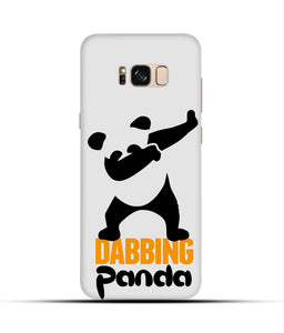 """Dabbing panda"" Printed Matt Finish Mobile Case for Samsung S8"