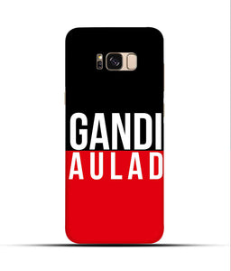 """gandi Aulaad"" Printed Matt Finish Mobile Case for Samsung S8"