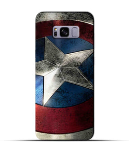 """Captain America"" Printed Matt Finish Mobile Case for Samsung S8 Plus"