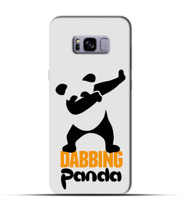 """Dabbing panda"" Printed Matt Finish Mobile Case for Samsung S8 Plus"