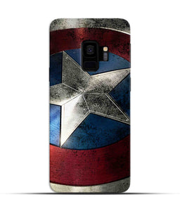 """Captain America"" Printed Matt Finish Mobile Case for Samsung S9"