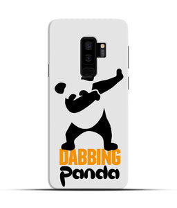 """Dabbing panda"" Printed Matt Finish Mobile Case for Samsung S9 Plus"